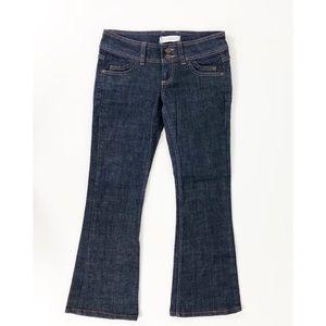 Topshop Cropped Moto Dark Wash Jeans